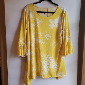 4/$25 Flirty Pink YellowFloral XL